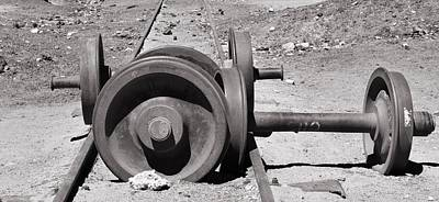 Photograph - Wheels by Sandy Taylor
