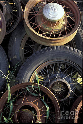 Photograph - Wheels by Stan and Anne Foster