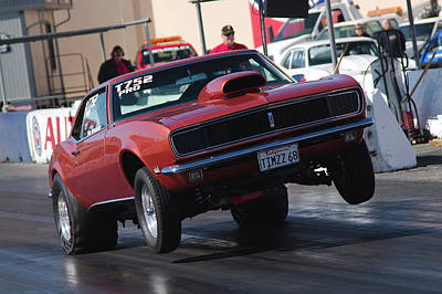 Photograph - Wheels Up Camaro by Richard J Cassato
