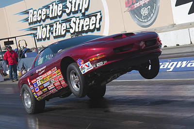 Photograph - Wheels Up Firebird by Richard J Cassato