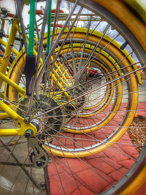 Photograph - Wheels Within Wheels by Mark David Gerson