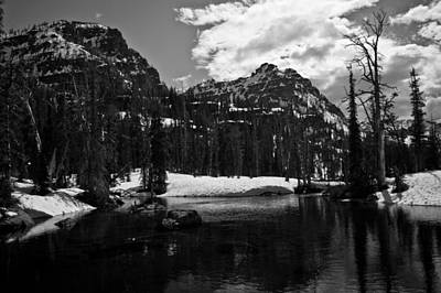 Whelp Lake, Mission Mountains Art Print