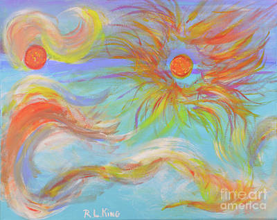 Painting - When A Star Is Born by Robyn King