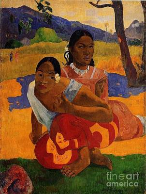 Gauguin Mixed Media - When Are You Getting Married by Gauguin