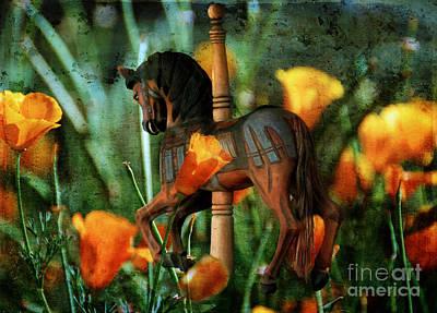 Photograph - When Carousels Dream by Lois Bryan