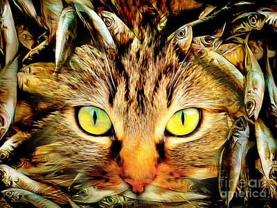 Photograph - When Cats Dream 20170922 by Wingsdomain Art and Photography