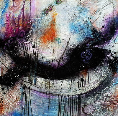 When Days Go By Art Print by Tracy Bonin