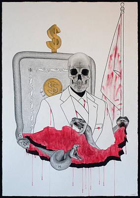 Painting - Cuando El Miedo Y La Ignorancia Reinan - When Fear And Ignorance Reign by Lynet McDonald