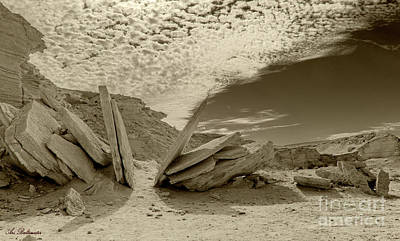 Photograph - When God Cuts Slices..... by Arik Baltinester