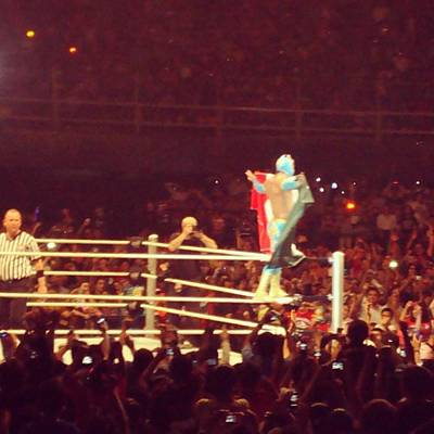 Wrestling Wall Art - Photograph - When I Used To Like Wwe #wwe #mexico by Gerardo Tavitas
