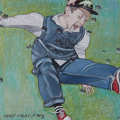 Painting - When I Was A Boy by Darlene Graeser