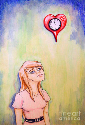 Self-portrait Mixed Media - When Is It My Time by Tori Revoir