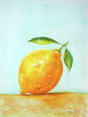Painting - When Life Gives You Lemons by Tamyra Crossley