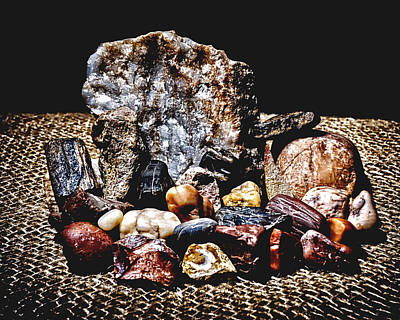 Photograph - When Life Gives You Rocks by Philip A Swiderski Jr