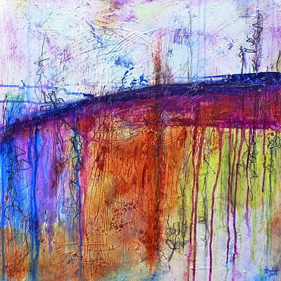 Painting - When My Mind Is Free by Tracy Bonin
