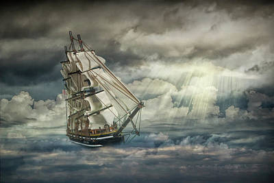 Photograph - When My Ship Comes In by Randall Nyhof