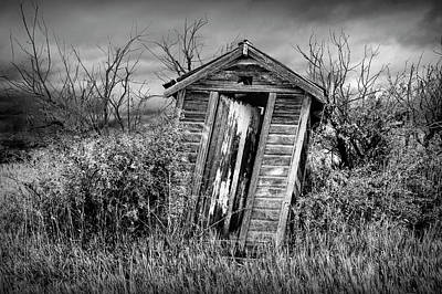 Photograph - When Nature Calls In Black And White by Randall Nyhof