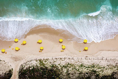 Aerial Photograph - When Nature Finds Its Way by Diego Baravelli