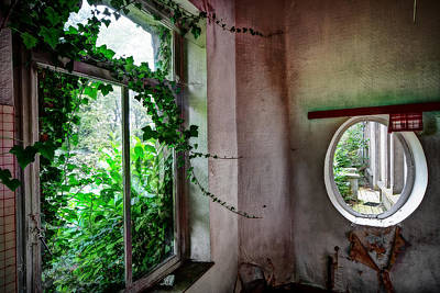 When Nature Takes Over - Urban Exploration Art Print by Dirk Ercken
