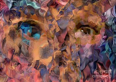 Digital Art - When She Is Gone by Leo Symon