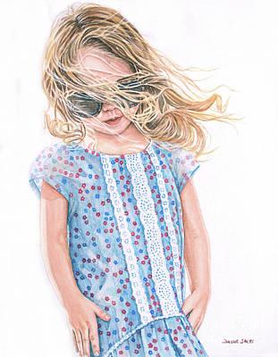 Painting - When She No Longer Needs Your Hand by Daune Sheri