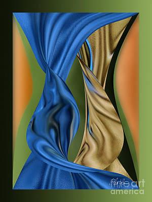 Digital Art - When Souls Dancing by Leo Symon