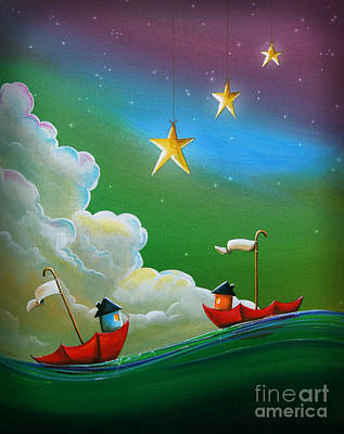 When Stars Align Print by Cindy Thornton