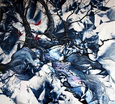 When The Birds Return Art Print by Jan VonBokel