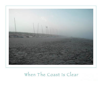 When The Coast Is Clear Art Print
