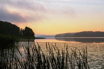 Photograph - When The Day Is Dawning At The Lake Enajarvi by Ismo Raisanen