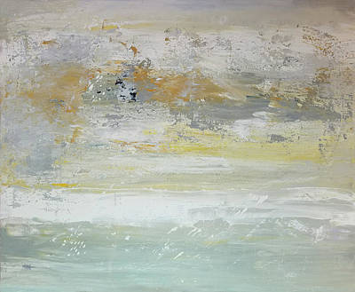 Painting - When The Fog Breaks by Maura Satchell