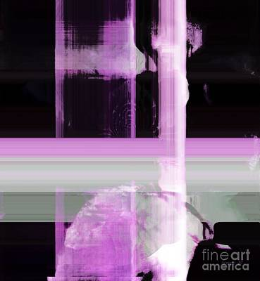 When The Light Goes Purple  Print by Fania Simon
