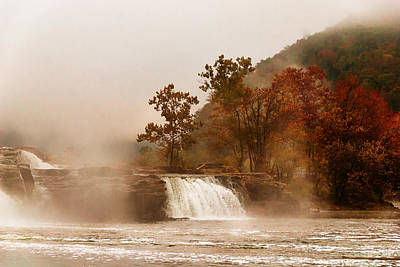 Photograph - When The Morning Dawns On Kanawha Falls by Jeanne Sheridan