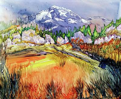 Painting - When The Mtn Calls by Kim Shuckhart Gunns