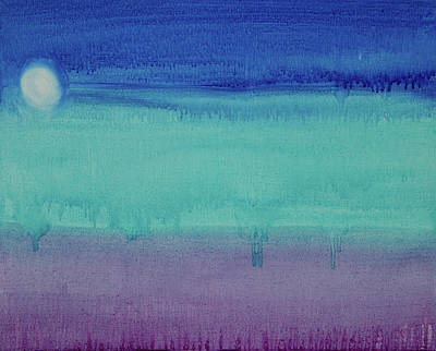 Painting - When The Night Comes by Deb Breton