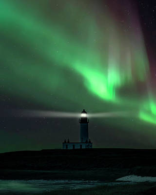 Photograph - When The Northern Lights Come by Jaroslaw Blaminsky