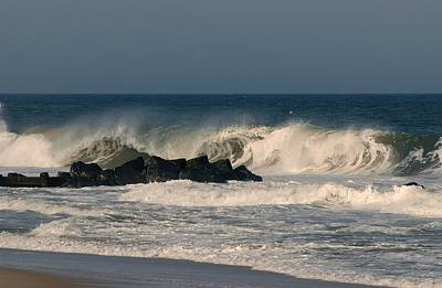 Photograph - When The Ocean Speaks - Jersey Shore by Angie Tirado