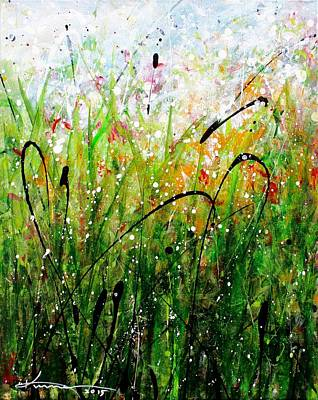 Painting - When The Rain Is Gone #6 by Kume Bryant