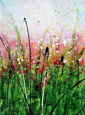 Painting - When The Rain Is Gone #8 by Kume Bryant