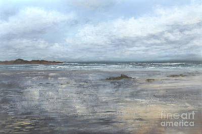 Painting - When The Sky Meets The Shore by Valerie Travers