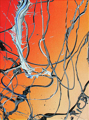 Painting - When The Tangles Finally Ensnare You by Ric Bascobert
