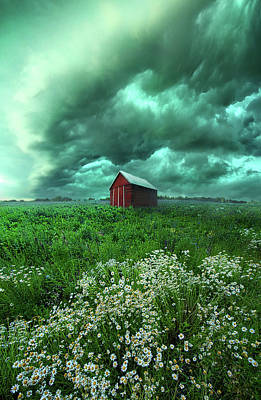 When The Thunder Rolls Art Print by Phil Koch