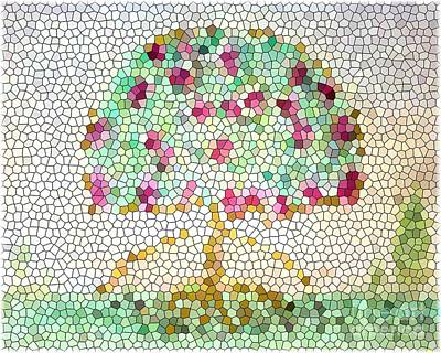 Photograph - When The Tiffany Tree Blooms 2 by Barbie Corbett-Newmin