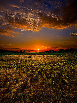National Geographic Photograph - When Time Stood Still by Phil Koch