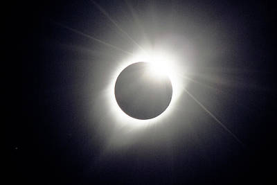 Photograph - When Totality Ends by Daniel Lowe