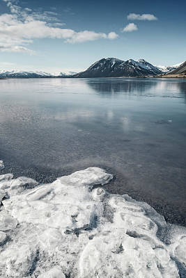 Photograph - When Water Became Ice by Evelina Kremsdorf