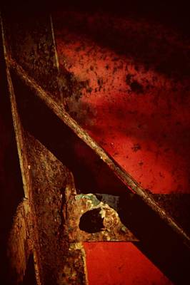 Fire Abstraction Photograph - When We Come To It by Odd Jeppesen
