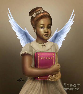 Painting - When We Were Angels by Reggie Duffie