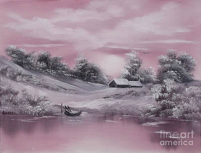 Painting - When Winter Comes Early Sold by Cynthia Adams