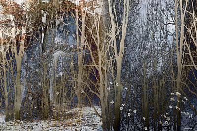 When Winter Stays Print by Ron Jones